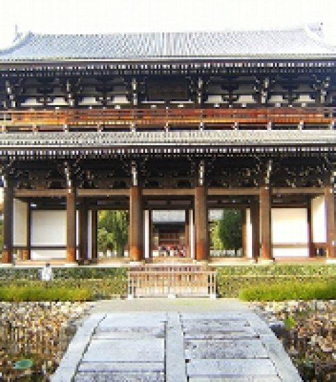 紅葉の宴~谷に架かる三名橋からの眺め~「東福寺」