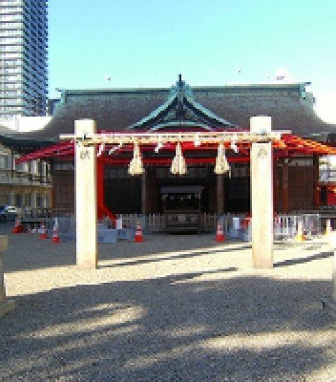 えびす様と福むすめの微笑み「今宮戎神社」