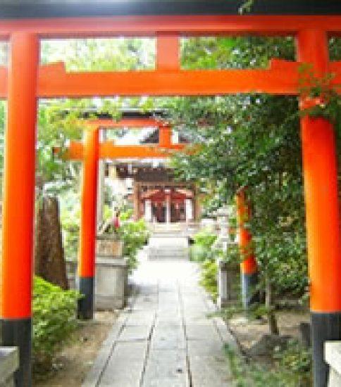 龍馬とおりょうの絆  「武信稲荷神社」