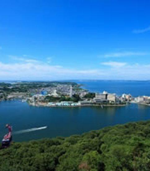 湖上を渡るロープウェイで訪ねる~舘山寺温泉「浜名湖オルゴールミュージアム」