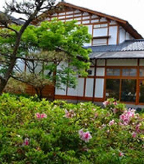日本建築の落ち着いた雰囲気、木と畳の香りに寛ぐ「雪梁舎美術館」